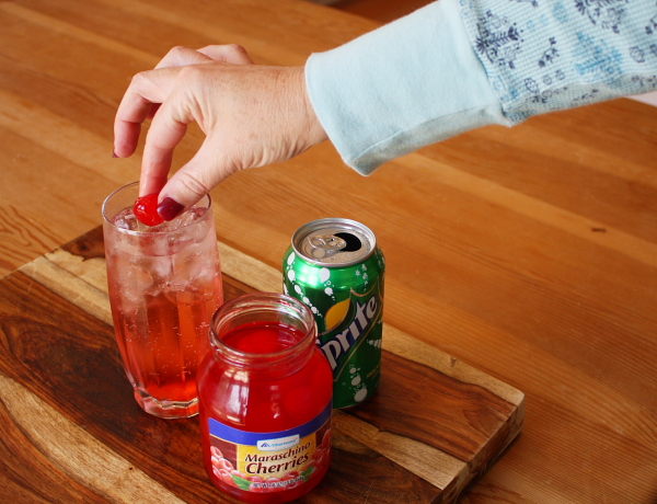 Making a Shirley Temple