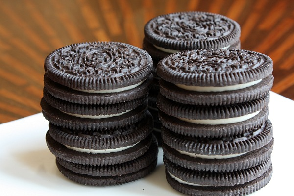 stacks of oreos