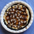 Twix Bar Cheesecake Pie 9