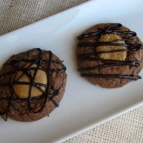 Peanut Butter Brownie Cookies 8