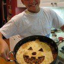 Jack O Lantern Sloppy Joe Pie 5