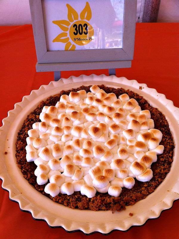 S'mores Pie displayed