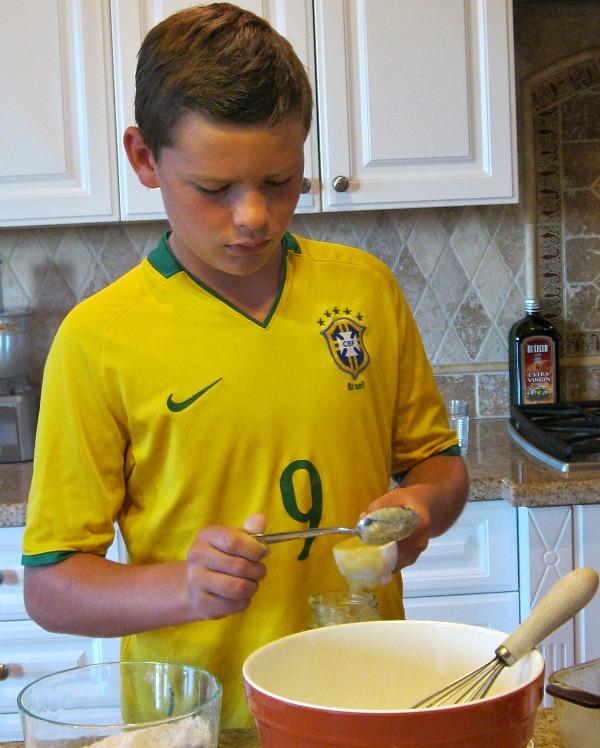 making Gluten Free Pumpkin Bread