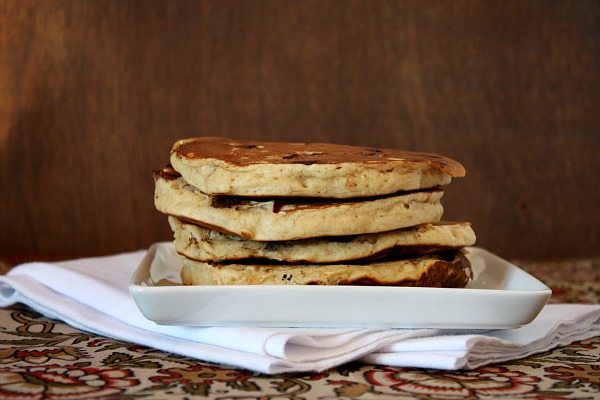 stack of Peanut Butter Pancakes