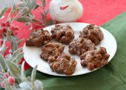 Chocolate- Butterscotch Peanut Clusters