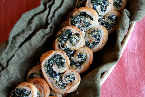 Spinach Palmiers
