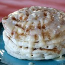 Maple Cinnamon Roll Pancakes 6