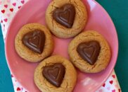 Peanut Butter Valentine's Day Cookies 1