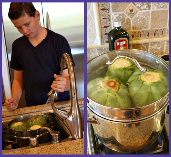 How to make artichokes