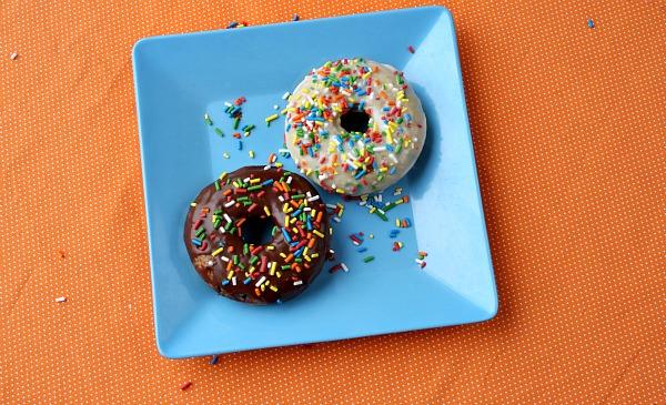Cake Batter Doughnuts