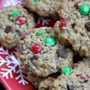 Christmas Monster Cookies 1