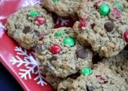 Christmas Monster Cookies 1