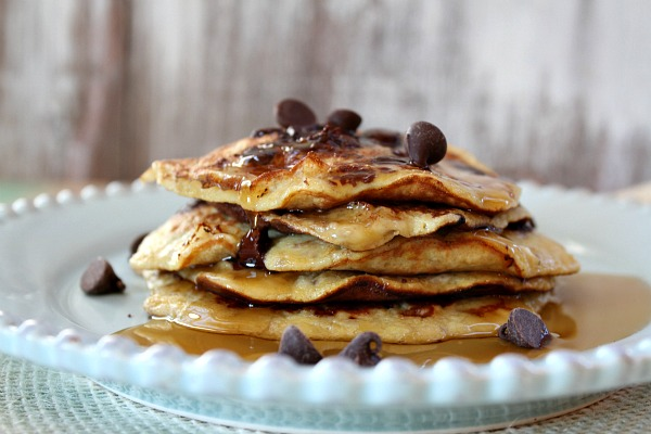 Chocolate Chip Pancakes Images & Pictures - Becuo