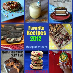 Favorite Recipes 2012