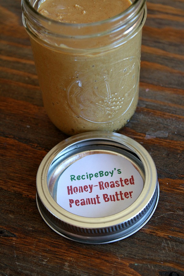 Homemade Honey- Roasted Peanut Butter | RecipeBoy