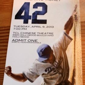 42 Premiere Ticket