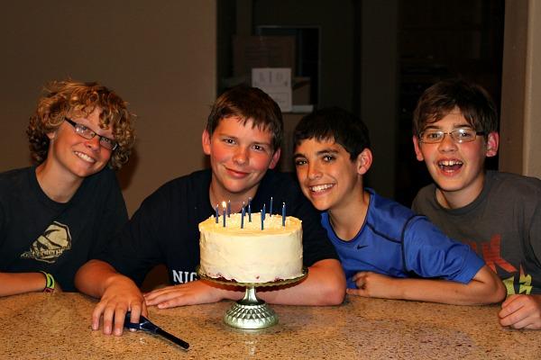 Brooks 12th birthday 3