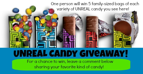 UNREAL CANDY GIVEAWAY