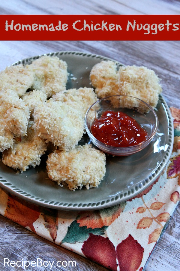 Homemade Chicken Nuggets 5