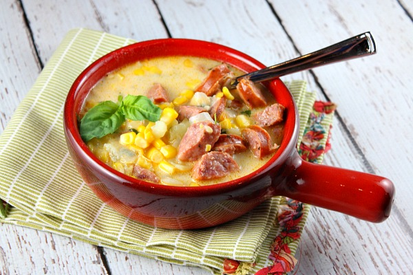 Sausage and Corn Chowder