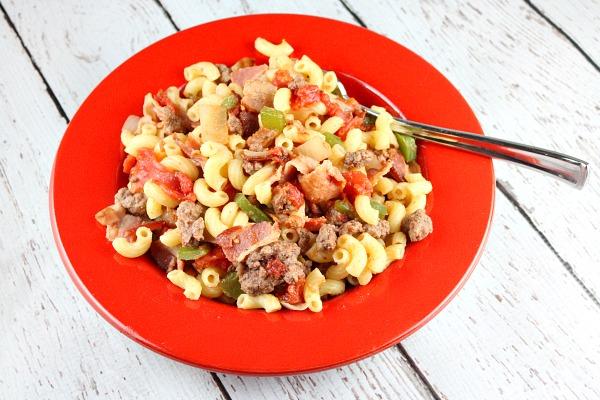 Wahlbergs American Chop Suey Recipe