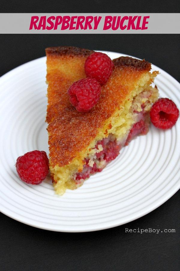 Raspberry Buckle #Recipe - RecipeBoy.com