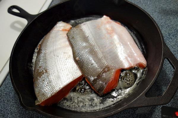 Skillet Sockeye Salmon 3