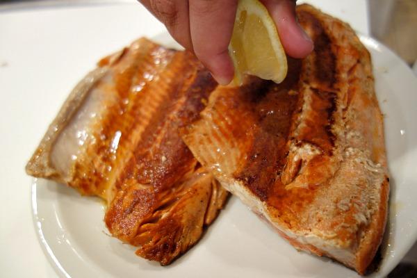 Skillet Sockeye Salmon 5