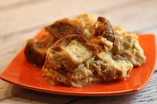 Skinny Slow Cooker French Toast Bread Pudding