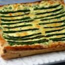Asparagus and Gouda Tart