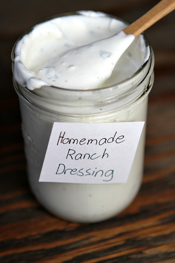 Homemade Ranch Dressing Recipe - RecipeBoy.com