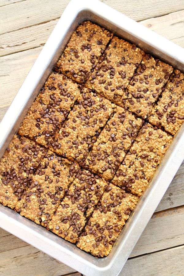 Chocolate Chip Granola Bar Recipe