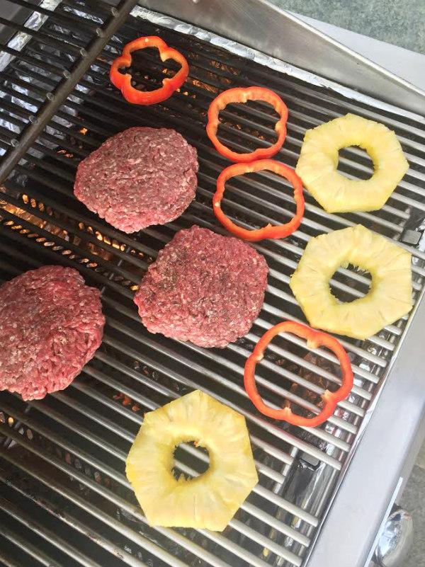 Hawaiian Burgers Prep