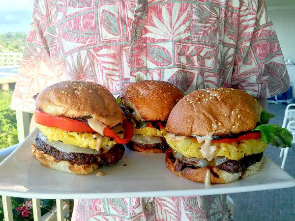 Hawaiian Burgers Recipe