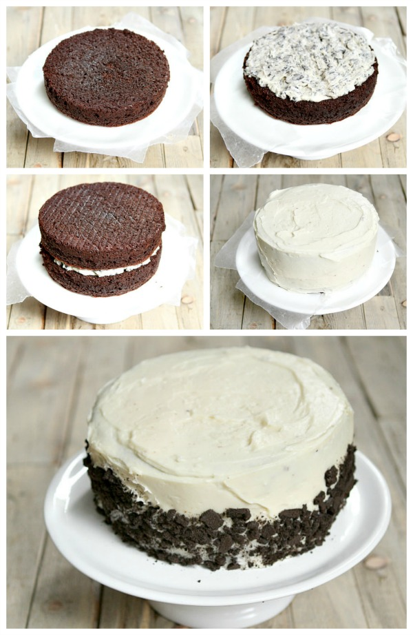 Cookies and Cream Cake Recipe
