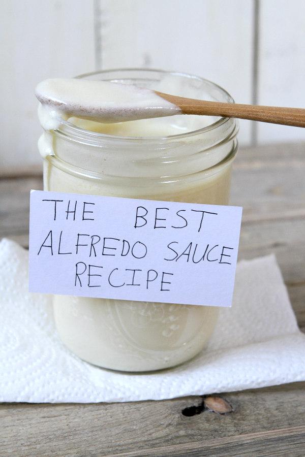 Best Alfredo Sauce Recipe in a jar