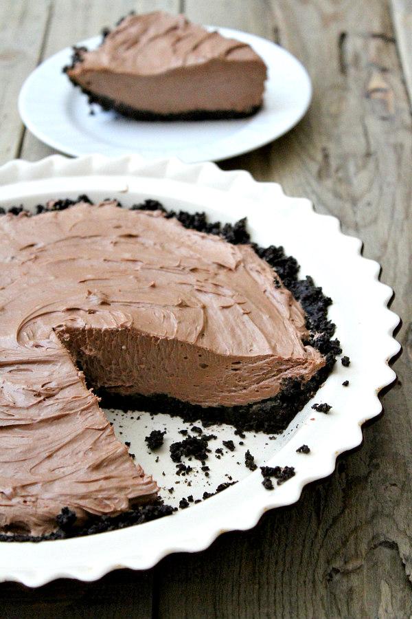 No Bake Nutella Pie Recipe