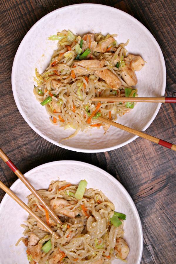 Easy Chow Mein Recipe - from RecipeBoy.com