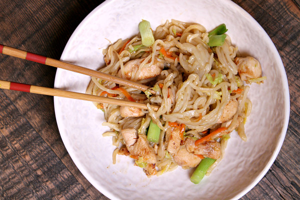 Easy Chow Mein Recipe - from RecipeBoy.com