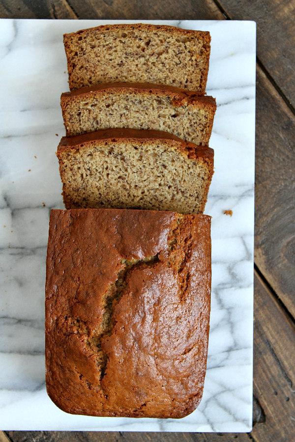 Easy Sour Cream Banana Bread recipe - by RecipeBoy.com