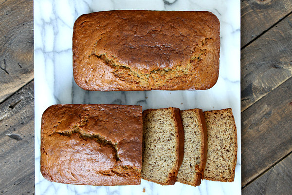Easy Sour Cream Banana Bread recipe - by RecipeBoy.com