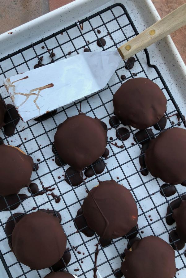 Frozen Marshmallow Fluff Cookies