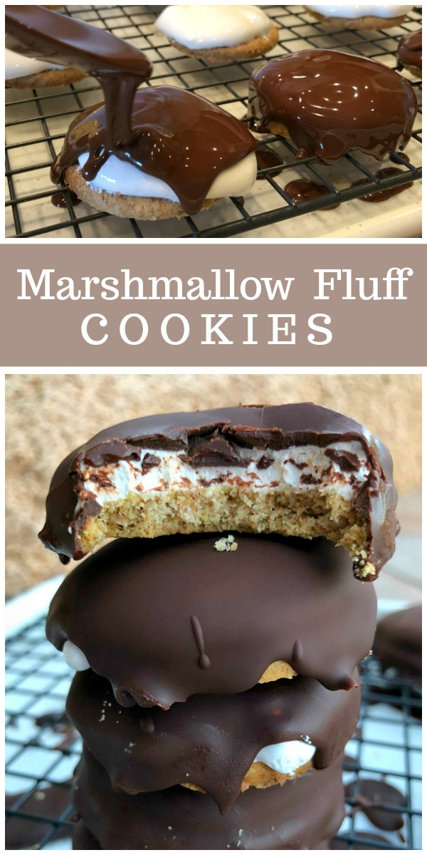 Marshmallow Fluff Cookies recipe from RecipeBoy.com #marshmallow #fluff #cookies #RecipeBoy