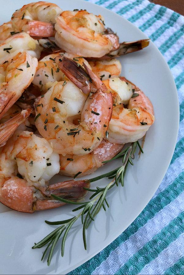 Easy Baked Garlic Shrimp