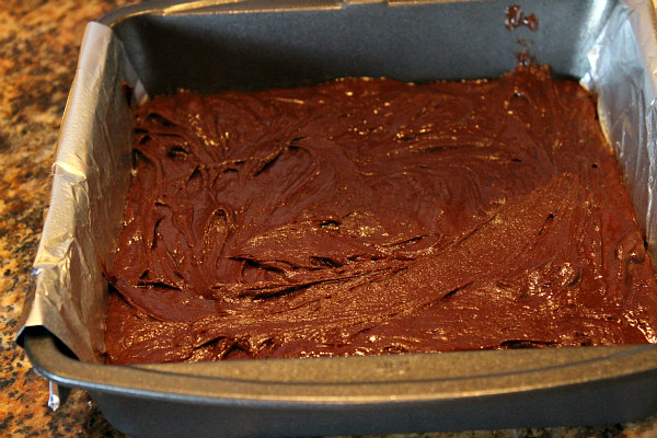 Pan of 2 Ingredient Fudge