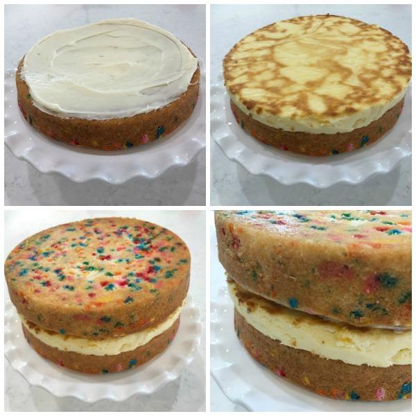 How to make a Funfetti Cheesecake Cake