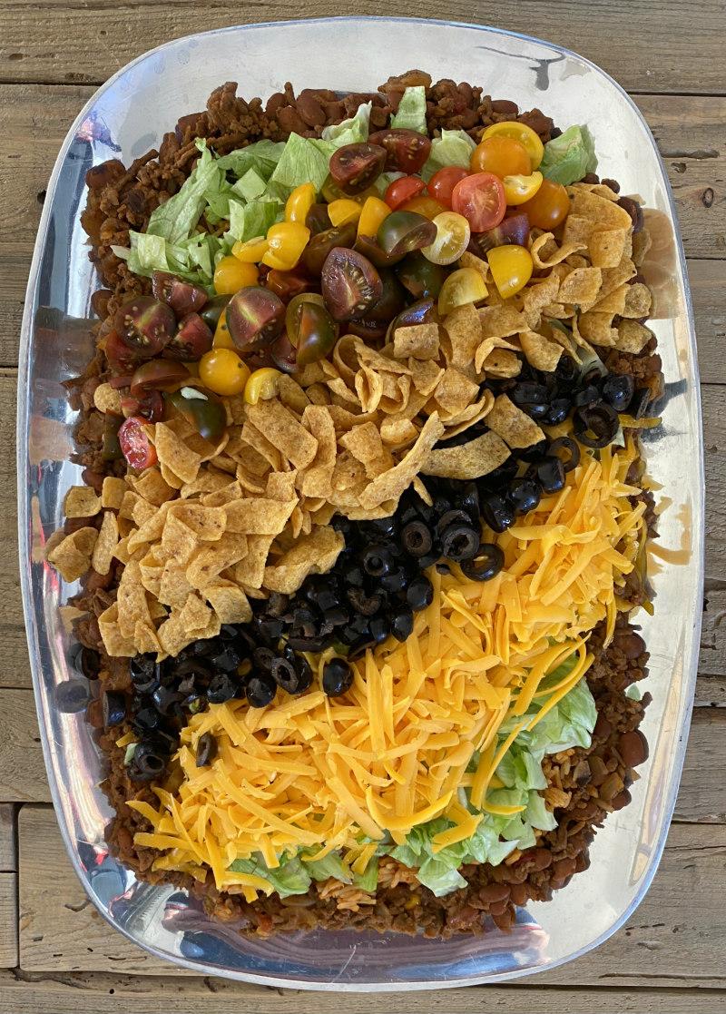 Best Taco Dip Platter