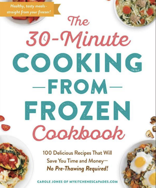 30 Minute Cooking from Frozen Cookbook Cover