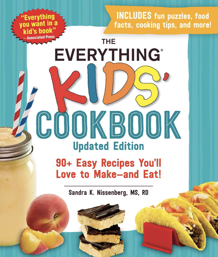 The Everything Kids Cookbook cover