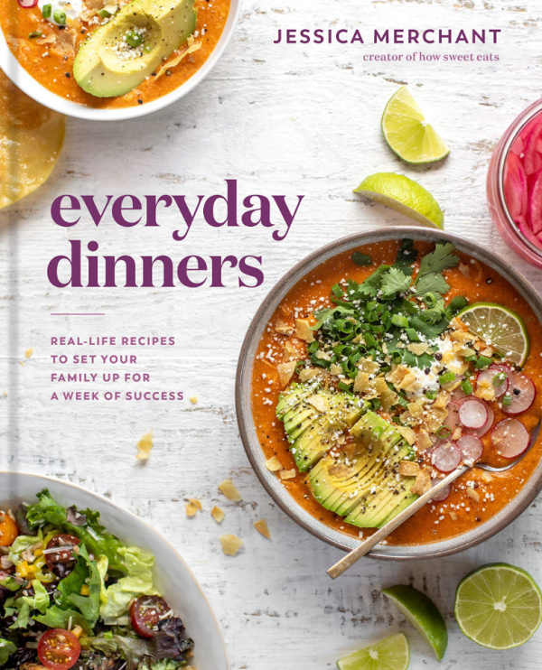 cookbook cover for everyday dinners